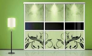 lustro nafront szafy, przykłady