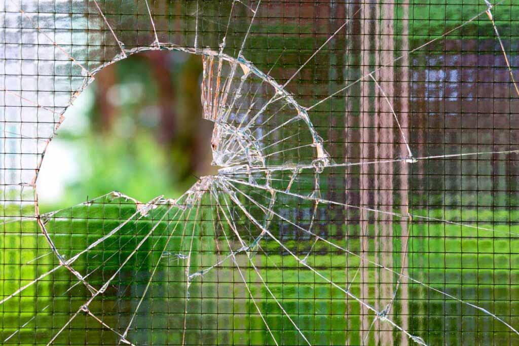 szkło zbrojone